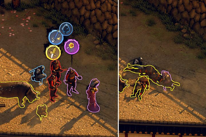 Tryb cienia - Rodzaje przeciwników, typy zachowań i sposoby eliminacji - Shadow Tactics: Blades of the Shogun - poradnik do gry