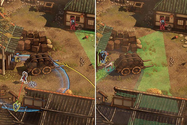 Teraz musisz wykazać się odrobiną precyzji i szybkości - Misja 1 - Zamek Osaka - Shadow Tactics: Blades of the Shogun - poradnik do gry