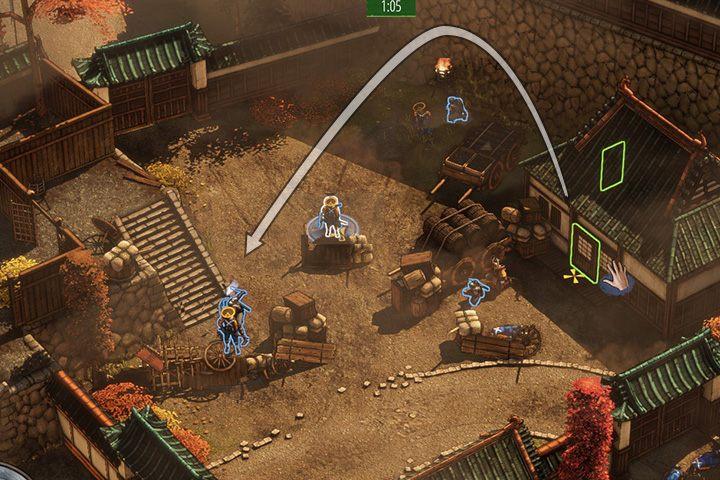 Nieoczekiwanie otrzymasz wsparcie - Misja 1 - Zamek Osaka - Shadow Tactics: Blades of the Shogun - poradnik do gry