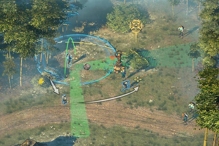 Zdejmij przeciwnika, który patroluje od mostu do północnego punktu - Misja 2 - Trakt Nakasendo - Shadow Tactics: Blades of the Shogun - poradnik do gry