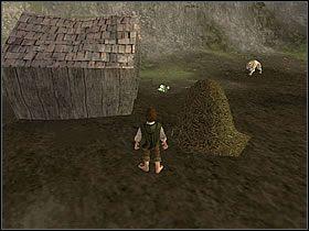 Wróć do staruszka, który tak bardzo się uciesz z twojej przysługi, że da Ci trzy [Mushroomy] - Część 4 - The Shire - Władca Pierścieni: Drużyna Pierścienia - poradnik do gry