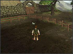 Drugie ogrodzenie po prawej jest otwarte z tyłu - Część 4 - The Shire - Władca Pierścieni: Drużyna Pierścienia - poradnik do gry