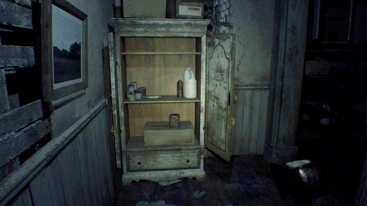 Bezpiecznik w szafie za kuchnią - Pensjonat (Guest house) - Resident Evil VII: Biohazard - poradnik do gry