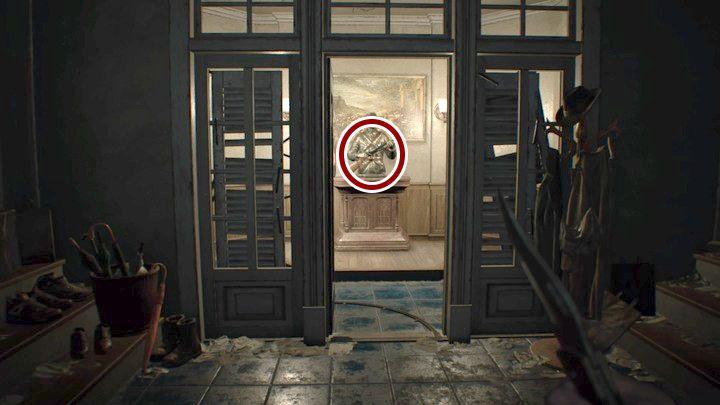 Strzelba znajduje się w głównym hallu... Co należy zrobić, by móc z nią uciec? - Piwnica - Resident Evil VII: Biohazard - poradnik do gry