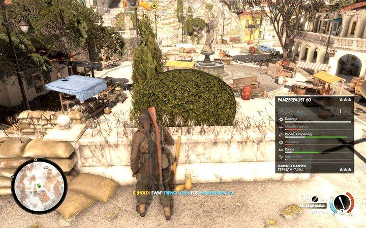 Panzerfaust - Znajdź kwaterę partyzantów - Sniper Elite 4 - poradnik do gry