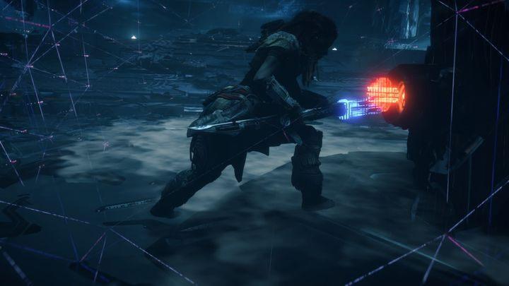 Po wykończeniu Nadymacza Ognistego zsynchronizuj dane z rdzeniem - Kocioł SIGMA (Cauldron SIGMA) - zadanie | Korona matki - Horizon Zero Dawn - poradnik do gry