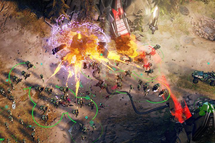 Zniszcz generator, aby otworzyć przejście dla twoich pojazdów. - Misja 2: Nowy wróg - Halo Wars 2 - poradnik do gry