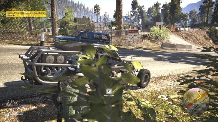 Misję Informator rozpoczynasz przy bazie Unidadu, ale tym razem nie musisz dostawać się do środka - Informator | Misje główne w Flor De Oro - Tom Clancys Ghost Recon: Wildlands - poradnik do gry