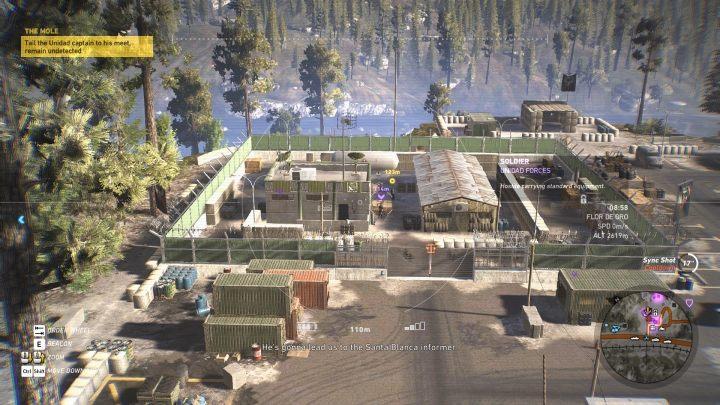 Za pomocą drona oznacz kapitana Unidadu - Informator | Misje główne w Flor De Oro - Tom Clancys Ghost Recon: Wildlands - poradnik do gry