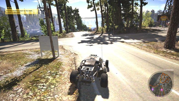 Podążaj za samochodem w odległości nie mniejszej niż 100 metrów - Informator | Misje główne w Flor De Oro - Tom Clancys Ghost Recon: Wildlands - poradnik do gry