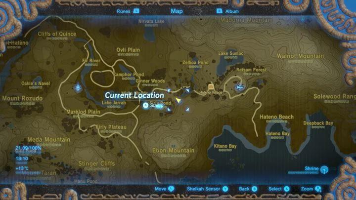 W Hateno Village napotkasz specjalny posąg, przy którym możesz dokonać zmiany w rozdysponowanych Spirit Orbach. - Jak zwiększyć staminę i zdrowie? - The Legend of Zelda: Breath of the Wild - poradnik do gry