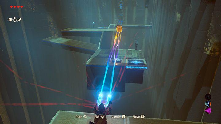 Ustaw beczkę na przełączniku - Świątynie (Shrines) w Dueling Peaks Tower - The Legend of Zelda: Breath of the Wild - poradnik do gry