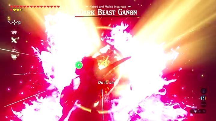 Dark Beast Ganon W Zelda Breath Of The Wild The Legend Of