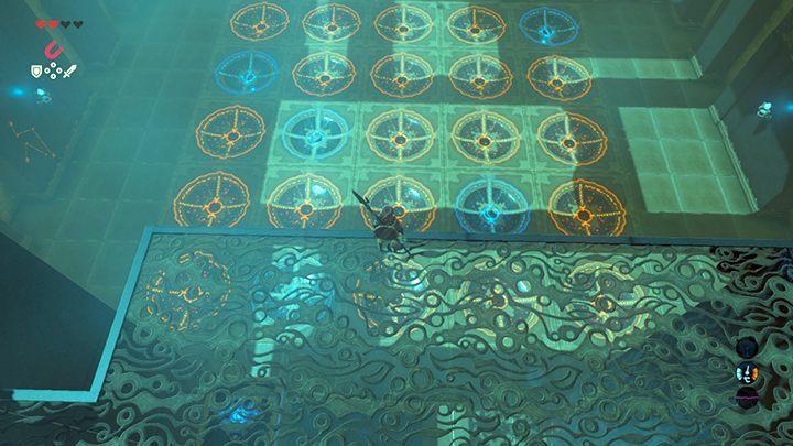 Ułóż kule w ten sposób - Świątynie (Shrines) w Dueling Peaks Tower   Zelda: Breath of the Wild - The Legend of Zelda: Breath of the Wild - poradnik do gry