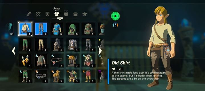 To set, który znajdziesz na samym początku gry - Wszystkie armor sety - The Legend of Zelda: Breath of the Wild - poradnik do gry