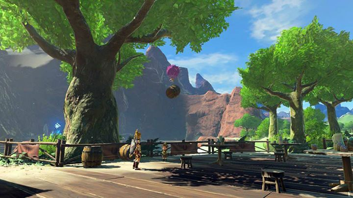 Zamontuj balon na beczce - Woodland Tower Region zadania poboczne - The Legend of Zelda: Breath of the Wild - poradnik do gry