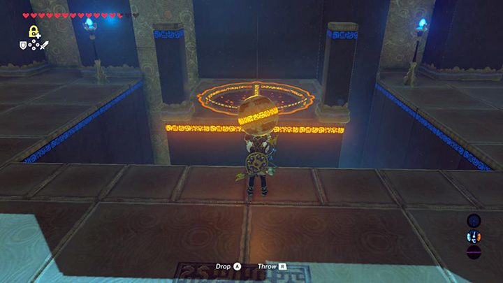 Wrzuć kulę do otworu - Ridgeland Tower świątynie - Shrines - The Legend of Zelda: Breath of the Wild - poradnik do gry