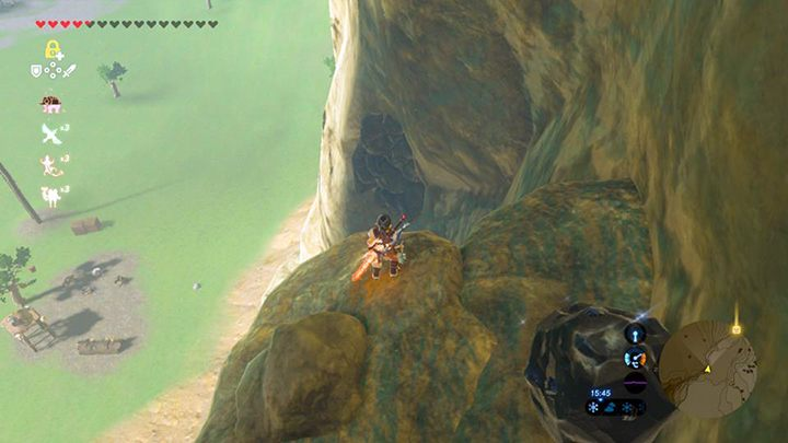 Zniszcz kamienie aby odsłonić wejście - Ridgeland Tower świątynie - Shrines - The Legend of Zelda: Breath of the Wild - poradnik do gry