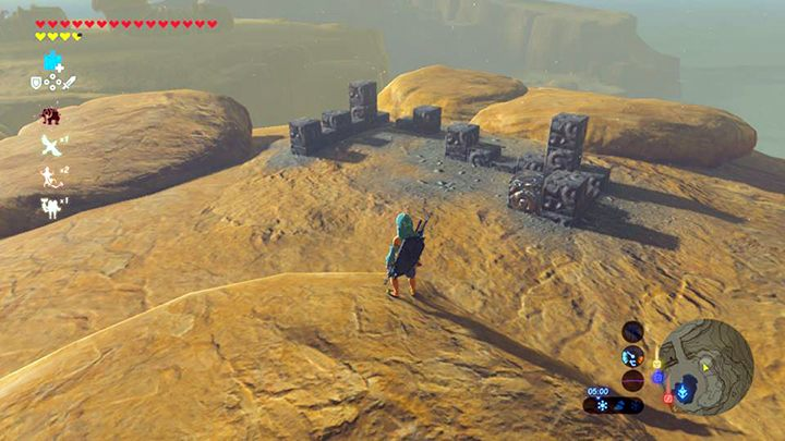 Ułóż puzzle - Wasteland Tower Region Korok Seeds - The Legend of Zelda: Breath of the Wild - poradnik do gry