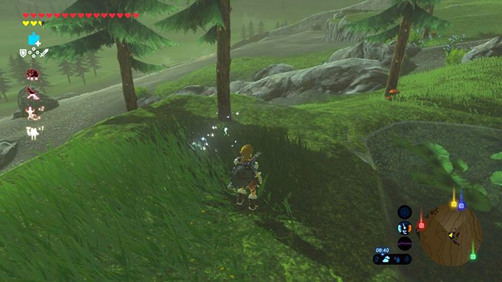 Złap Koroka - Woodland Tower Region Korok Seeds - The Legend of Zelda: Breath of the Wild - poradnik do gry