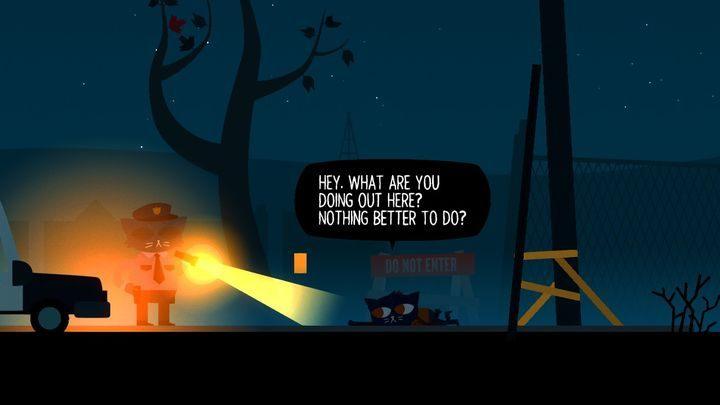 Koniec końców policjant odwiezie cię do domu. - Prolog Night in the Woods - Night in the Woods - poradnik do gry