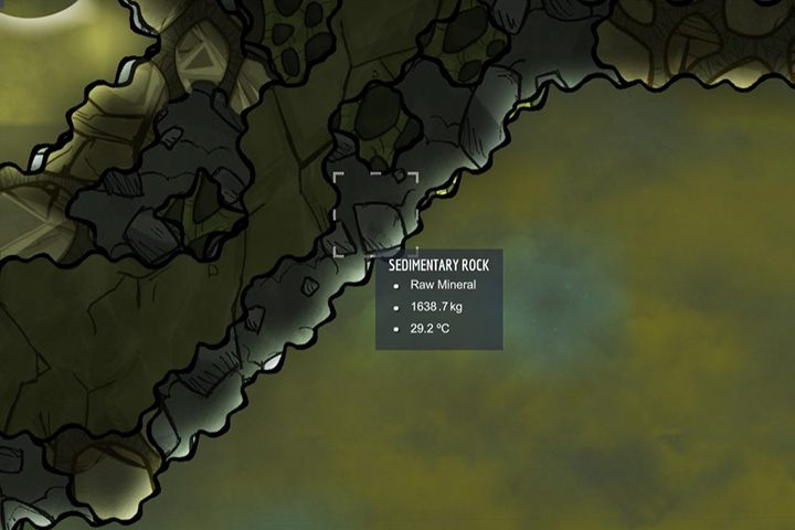 Sedminetary Rock - skały osadowe - Minerały, skały i metale w Oxygen Not Included - Oxygen Not Included - poradnik do gry