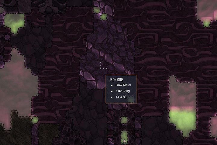 Iron Ore - ruda żelaza - Minerały, skały i metale w Oxygen Not Included - Oxygen Not Included - poradnik do gry