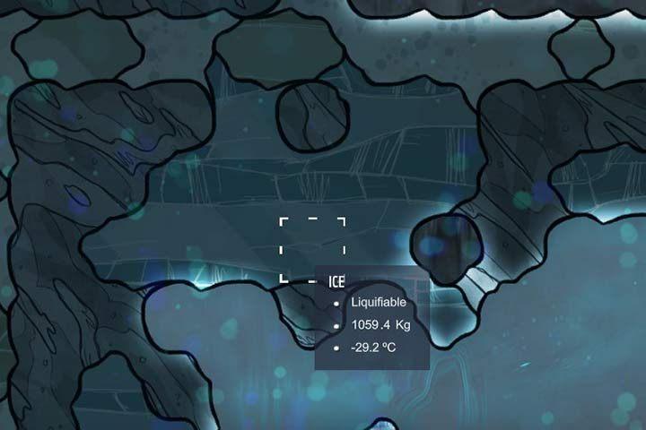 Ice - lód - Minerały, skały i metale w Oxygen Not Included - Oxygen Not Included - poradnik do gry