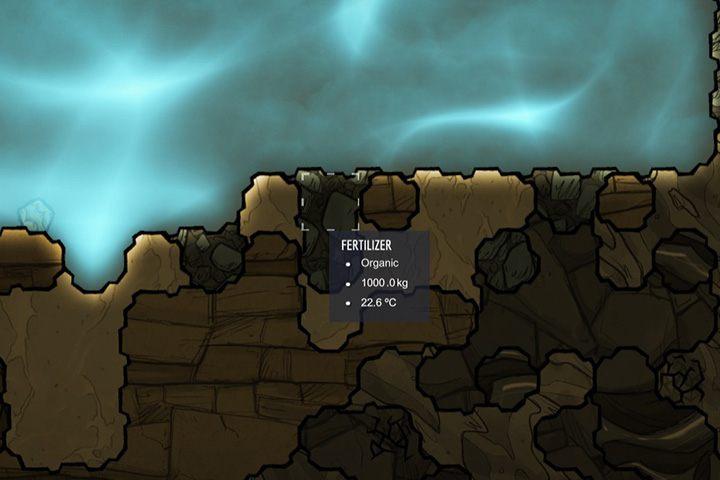 Fertilizer - nawóz - Minerały, skały i metale w Oxygen Not Included - Oxygen Not Included - poradnik do gry