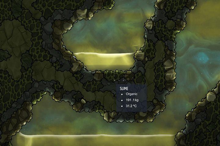 Slime - muł, szlam - Minerały, skały i metale w Oxygen Not Included - Oxygen Not Included - poradnik do gry