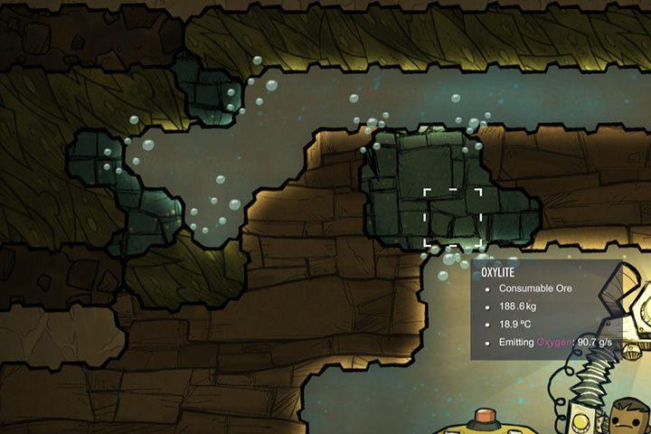 Oxylite - Minerały, skały i metale w Oxygen Not Included - Oxygen Not Included - poradnik do gry