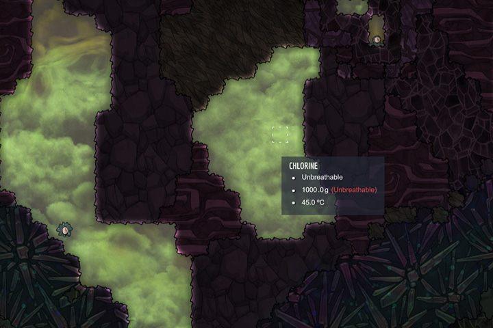 Chlorine - chlor - Gazy w Oxygen Not Included - Oxygen Not Included - poradnik do gry