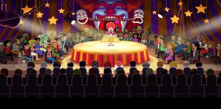 Felerny popis clowna okaże się dla niego zgubny. - Part 1 - The Meeting / Part 2 - The Body | Opis przejścia - Thimbleweed Park - poradnik do gry