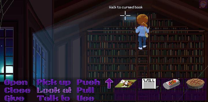Zabierz przeklętą książkę. - Part 4 - The Will / Part 5 -The Reading | Opis przejścia - Thimbleweed Park - poradnik do gry