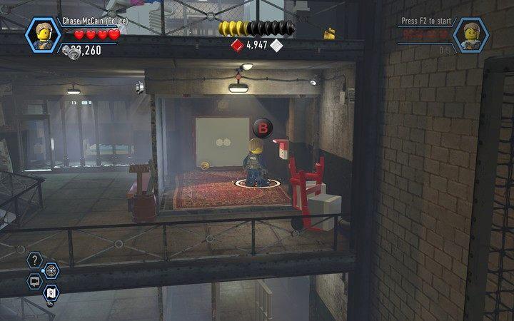 Wybuduj terminal i użyj go, a drzwi staną otworem - Cele więzienne na wyspie | Rozdział 3 - LEGO City: Tajny Agent - poradnik do gry