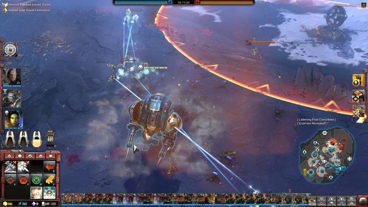 Po uzbieraniu odpowiedniej ilości punktów elitarnych, wystarczy wezwać jednostkę na pole walki. - Punkty i jednostki elitarne   Rozgrywka - Warhammer 40,000: Dawn of War III - poradnik do gry