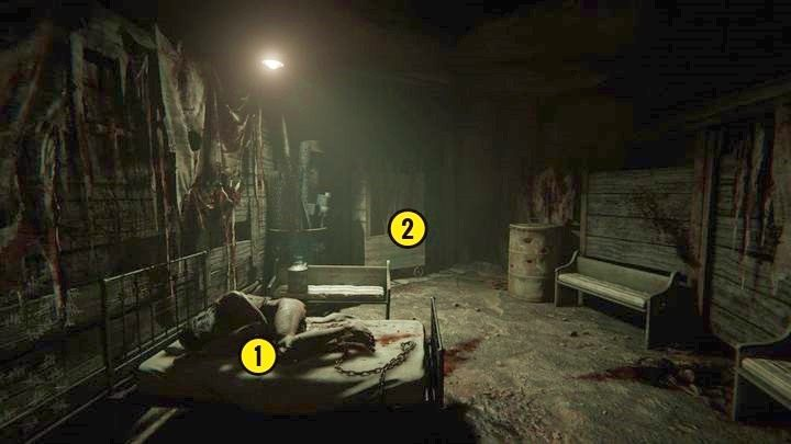 Następnie biegnij przed siebie korytarzem, aż dotrzesz do punktu widocznego na zdjęciu - Kaplica - Outlast 2 - poradnik do gry