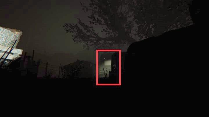 Nie zatrzymuj się nawet na chwilę i czym prędzej wyjdź spod budynku - Kaplica - Outlast 2 - poradnik do gry