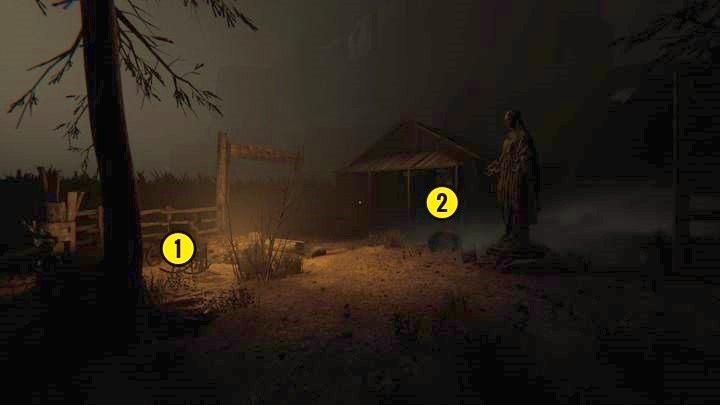 W pomieszczeniu obok jest notatka (Ewangelia Knotha rozdział 2 - Droga do kopalni - Outlast 2 - poradnik do gry
