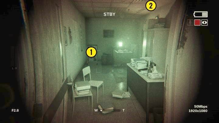 Obraz się załamie i znowu wrócisz do wyjścia ewakuacyjnego - Wewnętrzny demon - Outlast 2 - poradnik do gry