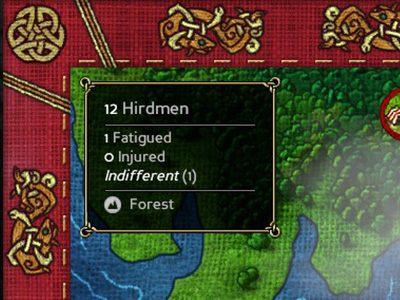 W prawym górnym rogu jest krótkie streszczenie dotyczące twojej drużyny. - Eksploracja mapy świata i obozowanie - Expeditions: Viking - poradnik do gry