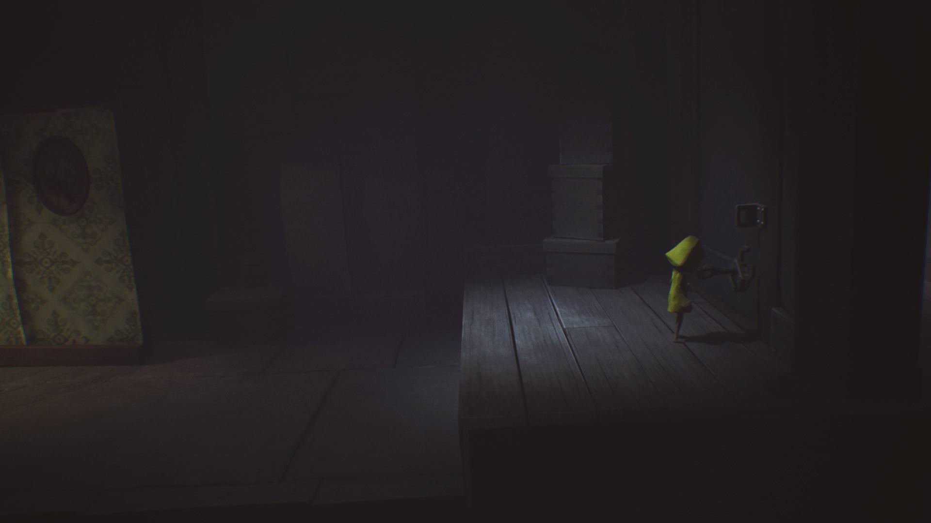 Otwórz drzwi z pomocą klucza. - Pokoje niewidomej istoty | The Lair - Little Nightmares - poradnik do gry
