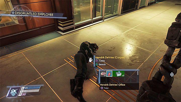 Zadanie to możesz odblokować dopiero w dalszej części gry, a konkretnie po dotarciu do sali na poziomie 4 Holu Talosa I, w której odblokowuje się główną windę i gdzie stacza się pojedynek z Tyfonem technopatą - Hol Talosa I | Dodatkowe zadania - Prey - poradnik do gry