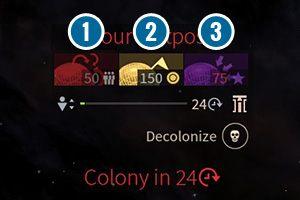 Możesz jednak pomóc swojej kolonii - Kolonizacja, migracja i ewakuacja w Endless Space 2 - Endless Space 2 - poradnik do gry