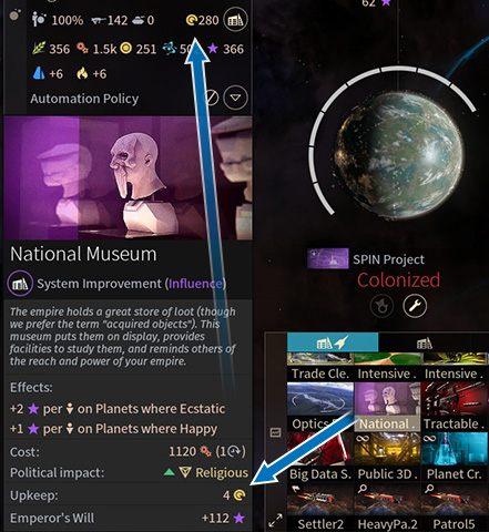 1 - Usprawnienia, rozbudowa i zasięg wpływów systemów w Endless Space 2 - Endless Space 2 - poradnik do gry
