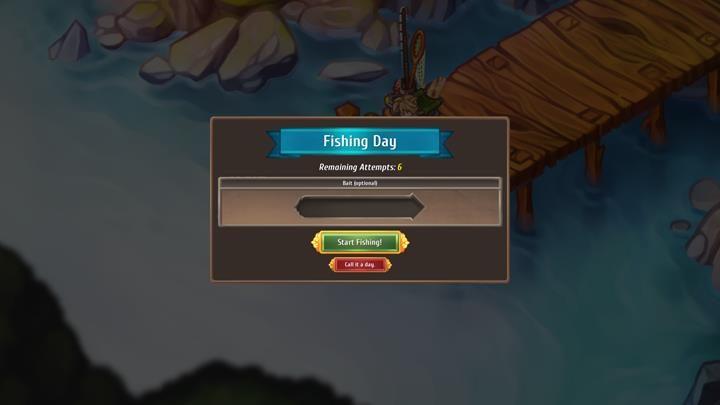 Łowienie ryb powoduje upływ czasu o jeden dzień - masz jednak, aż sześć prób na zdobycie cennych przedmiotów. - Łowienie ryb | Zarządzanie miastem - Regalia: Of Man And Monarchs - poradnik do gry