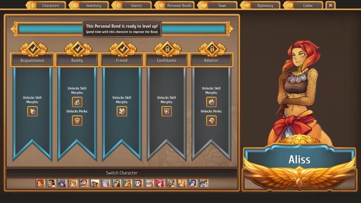 Aliss można zaliczyć do czołówki najlepszych postaci do walki - Z jakimi mieszkańcami budować relacje | Mieszkańcy miasta - Regalia: Of Man And Monarchs - poradnik do gry