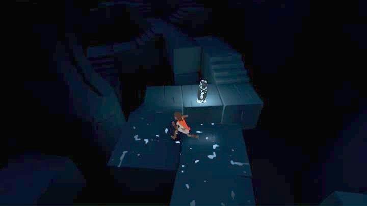 Biegnij do kolejnych świecących się figurek. - Droga na wieżę | Rozdział 1 | Opis przejścia - Rime - poradnik do gry
