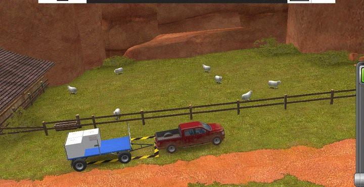 Do transportu wełny i mleka służą specjalne naczepy ulokowane przy hodowlach od początku gry - Podstawy hodowli | Dla początkujących - Farming Simulator 18 - poradnik do gry
