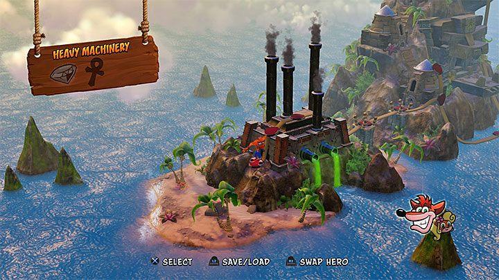 Podgląd wyspy Cortex Island - Opis wyspy Cortex Island | Opis przejścia - Crash Bandicoot N. Sane Trilogy - poradnik do gry